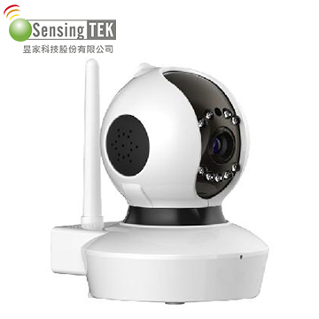 昱家-SensingTEK無線旋轉型網路攝影機