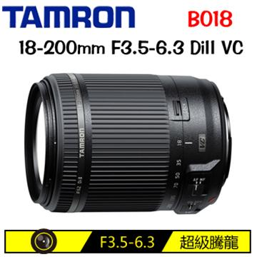 TAMRON 18-200mm F3.5-6.3 DiII VC B018(FOR NIKON(平輸))