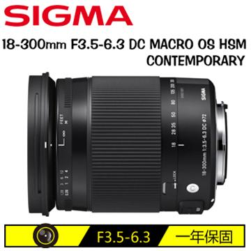 SIGMA 18-300mm F3.5-6.3 DC MACRO OS HSM(FOR NIKON(平輸))
