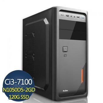 【鋼鐵雄兵】-技嘉第7代H110平台組裝電腦(GA-I3710010502G-1K)