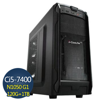 [重裝戰甲]-技嘉第7代H110平台組裝電腦 GA-I574001050G1-2K