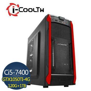 [星際戰警]-華碩第7代H110平台組裝電腦 AS-I574ST10504G-2K