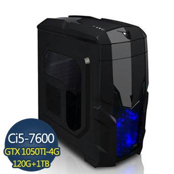 [淘金武士]-技嘉第7代H110平台組裝電腦 GA-I5761050WF4G-2K