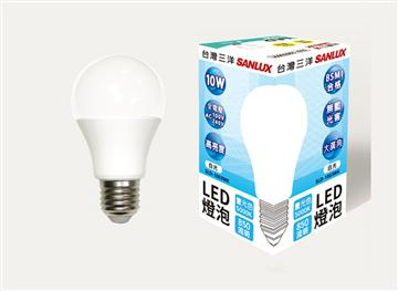 台灣三洋10W LED燈泡 白光(SLD-1003WK)