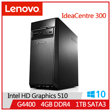 LENOVO IC 300 G4400 IdeaCentre桌上型主機(IC 300_20ISH_90DA00R0TV)