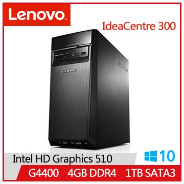 【福利品】LENOVO IC 300 G4400 IdeaCentre桌上型主機