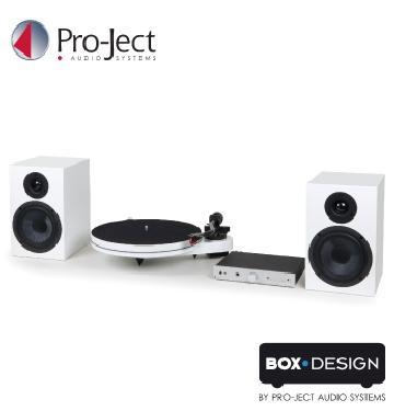 Pro-Ject黑膠音響組合