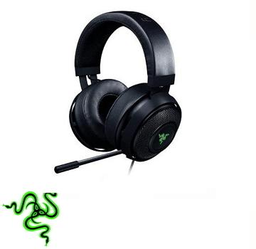 雷蛇 Razer Kraken V2  7.1 声道电竞耳机 - 黑(RZ04-02060100-R3M1)
