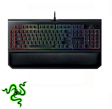 雷蛇 Razer Blackwidow Chroma V2黑寡妇终极键盘