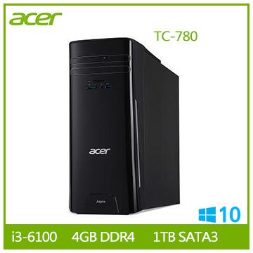 Acer TC-780 Ci3-6100 桌上型電腦