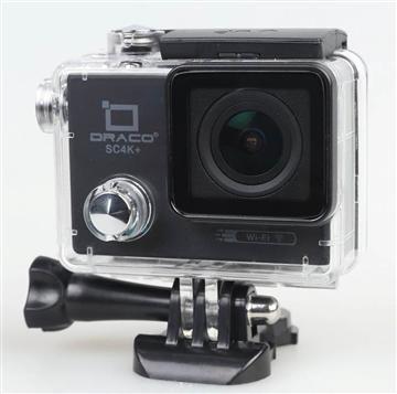 DRACO 第二代4K超高清運動防水攝影機-黑 SC4K+(黑)   快3網路商城~燦坤實體守護