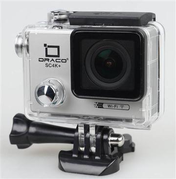 DRACO 第二代4K超高清運動防水攝影機-銀 SC4K+(銀)   快3網路商城~燦坤實體守護