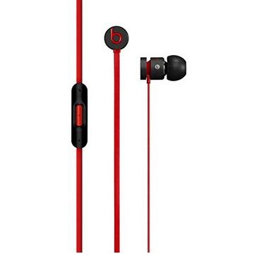 Beats urBeats 2 入耳式耳機-紅線黑(MHD02PA/B)