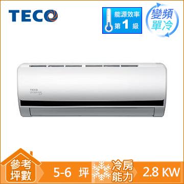 TECO一對一變頻單冷空調MS28IC-BV