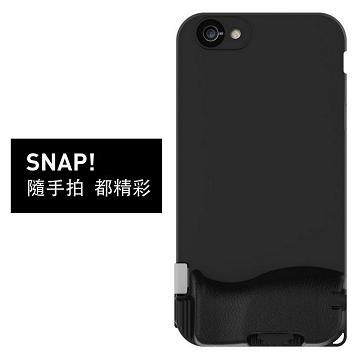 【iPhone 6/6S Plus】Bitplay SNAP  照相手機殼-黑(A908745)