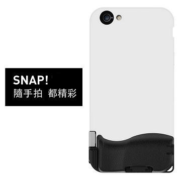 【iPhone 6/6S Plus】Bitplay SNAP 照相手機殼-白 A908746