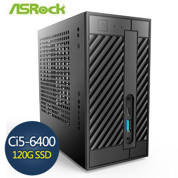 ASRock 華擎 Ci5-6400 8G 120G SSD迷你準系統(AS-Deskmini 110-com-wifi)