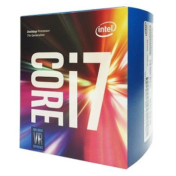 Intel CPU Core i7-7700(盒裝中央處理器)