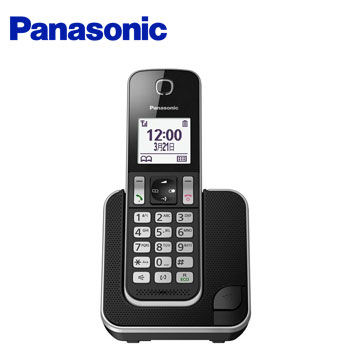 Panasonic  國際牌  DECT數位無線電話 長效電池 KX-TGD310TWB(單話機)