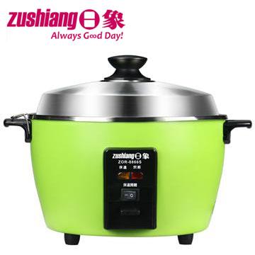 【福利品】日象6人份不鏽鋼電鍋-蘋果綠