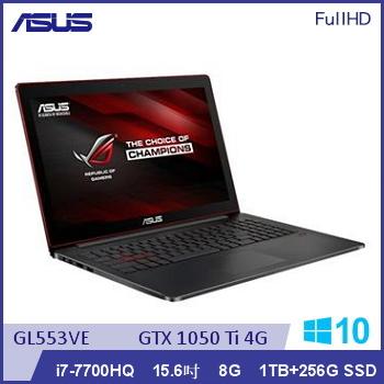 ASUS GL553VE Ci7 GTX1050 電競獨顯筆電