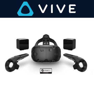 HTC Vive 頭戴式虛擬實境裝置