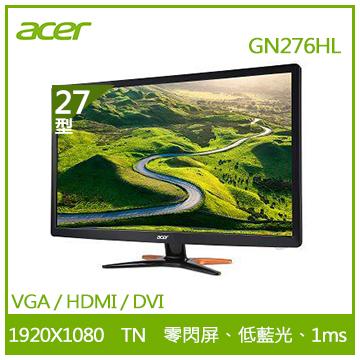 【27型】ACER GN276HL 電競螢幕
