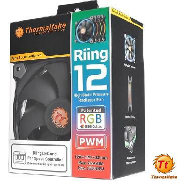 曜越Riing 12RGB水冷排風扇