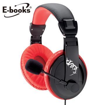 E-books S48电竞头戴耳机麦克风(E-EPA115)