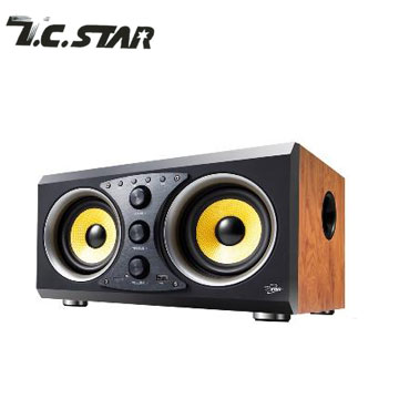 T.C.STAR蓝牙/USB扬声器(TCS3100WD(木纹))