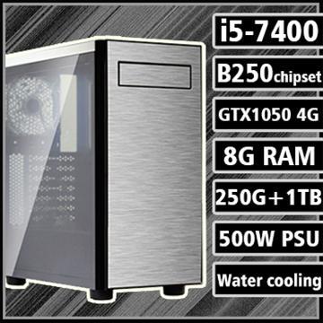 [星際戰士] - 七代Ci5水冷B250平台GTX1050獨顯組裝電腦(電競SSD)