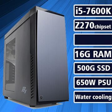 【幻想神域】 - 七代K版Ci5水冷Z270平台組裝電腦(電競SSD)(17010-5Z27)