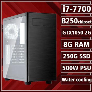 [星戰騎士] - 七代Ci7水冷B250平台GTX1050獨顯組裝電腦(電競SSD)