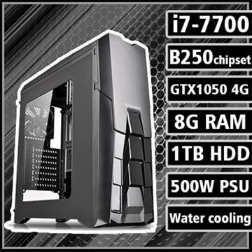 [復仇獵人] - 七代Ci7水冷B250平台GTX1050獨顯組裝電腦