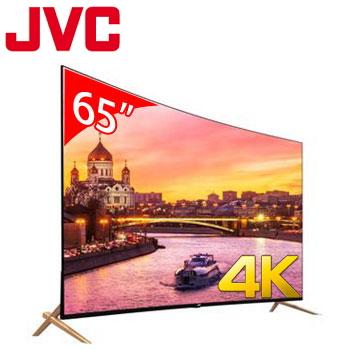JVC 65型廣色域4K智慧聯網顯示器