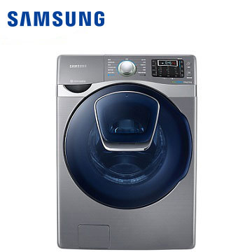 SAMSUNG 19公斤洁径门洗脱烘滚筒洗衣机(WD19J9810KP/TW)