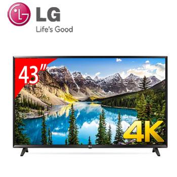 【展示機】 LG 43型4K智慧連網電視(43UJ630T)