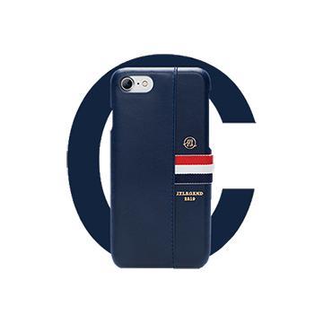 【iPhone 8 / 7】JTL Liberty 真皮背蓋-藍(真皮藍I7)