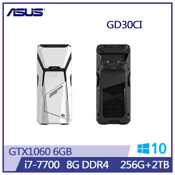 ASUS GD30 Ci7-7700 GTX1060 電競桌上型主機