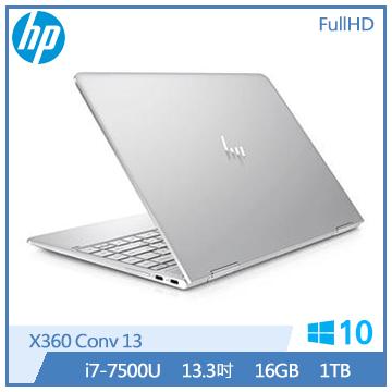 HP Spectre X360 13-ac057TU Ci7 1TB SSD 翻轉觸碰筆電(X360 Conv 13-ac057TU)