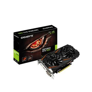 【拆封品】技嘉GeForce GTX 1060-3G 顯示卡(GV-N1060WF2OC-3GD)