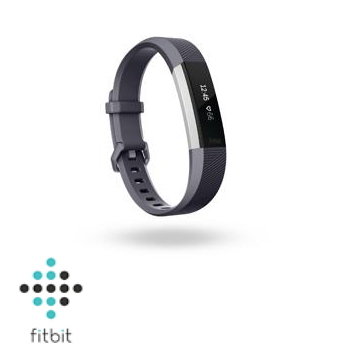 【L】Fitbit Alta HR 心率監測手環-藍灰