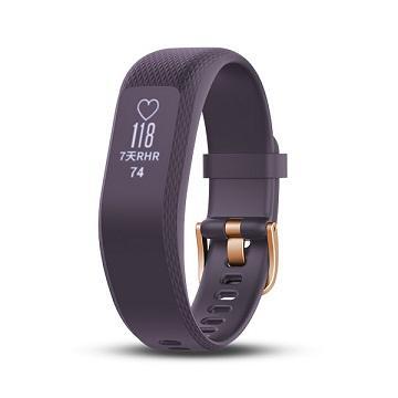 【小】Garmin Vivosmart3智慧健身心率手環-紫