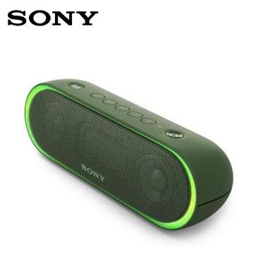 SONY NFC/蓝牙扬声器(SRS-XB20/G(绿))