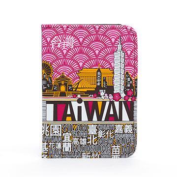 indulgence TAiWAN 護照套-梅紅