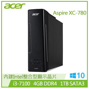 【福利品】ACER XC-780 Ci3-7100 雙核桌上型電腦