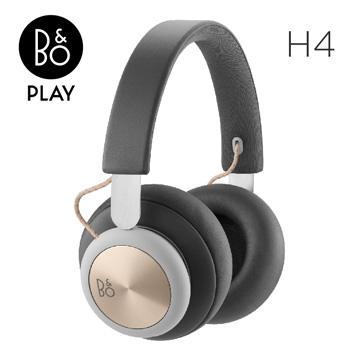 B&O PLAY H4藍牙無線耳罩式耳機-炭灰金