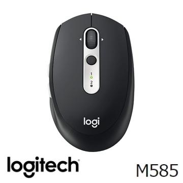 罗技 Logitech M585 无线鼠标 - 黑(910-005111)