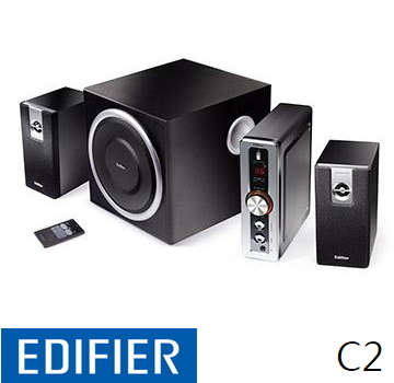 Edifier 漫步者 ED3C2T 2.1声道三件式喇叭(ED3C2T)