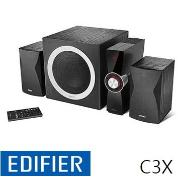 Edifier 漫步者 ED3C3XT 2.1声道三件式喇叭(ED3C3XT)